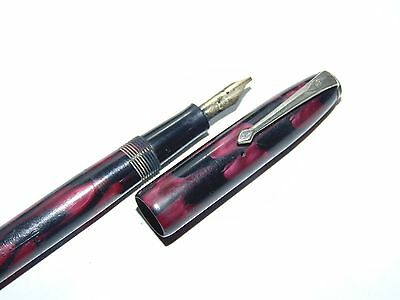 Conway Stewart N°16 Fountain Pen Vintage Pennino In Oro
