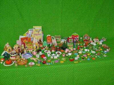 Huge RE-MENT Rement MINIATURES Barbie Size Accessories Lot Food Dishes Candy ++