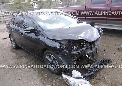 2014 Ford Focus SE 2014 Ford Focus Se For Sale Cheap Salvage Title