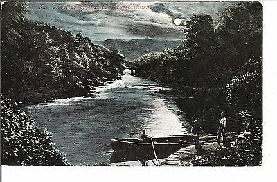 The meeting of the waters Killarney 1905 postcard