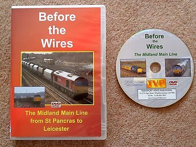 TVP DVD Before the Wires: The Midland Main Line from St Pancras to Leicester
