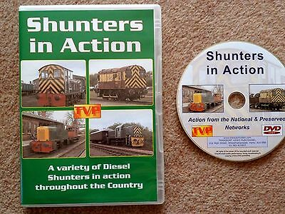British Railways DVD Shunters in Action by Transport Video Publishing