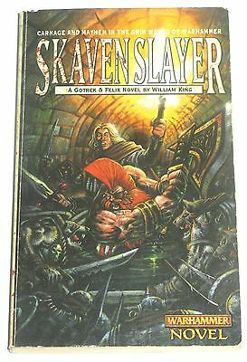 Scavenslayer by William King Warhammer Black Library
