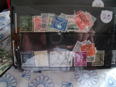 finland  stamps   lot 20