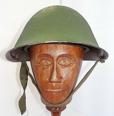 Original British Army Mk Iv Turtle Shell Steel Helmet And Liner