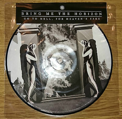 """Bring Me The Horizon - Go To Hell For Heaven's Sake 7"""" Picture Disc Vinyl - RARE"""