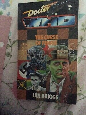 Doctor Who The Curse Of Fenric Target Book