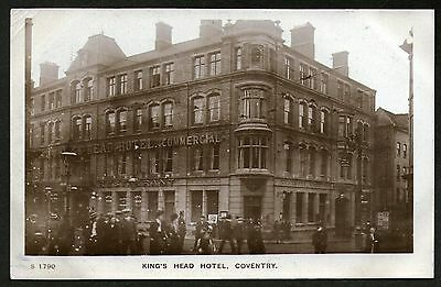 King's Head Hotel, Coventry. RP. Unposted.