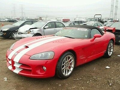 2004 Dodge Viper SRT10 2004 SRT10 Used 8.3L V10 20V Manual RWD Convertible Premium