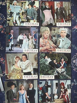 Full Set 8 UK FOH film lobby cards CARRY ON DON'T LOSE YOUR HEAD 1966 Sid James