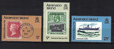 Ascension Islands. Stamp Show London 1976 Mnh