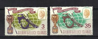 Gilbert & Ellice.world Cup 1966 Mnh.