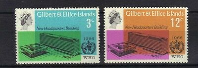 Gilbert & Ellice.who 1966 Mnh.