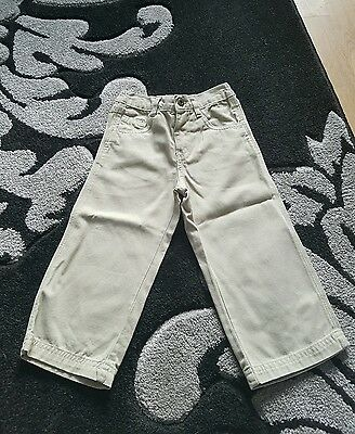 baby boys stone coloured trousers age 18-24 months from m&co