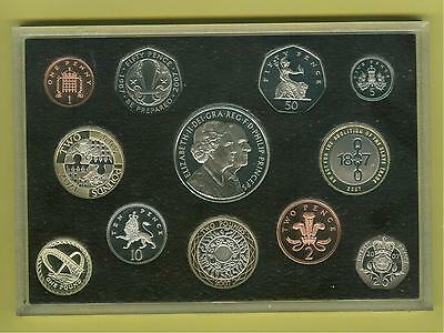 2007 UK Proof Coin Collection - Boxed - COA