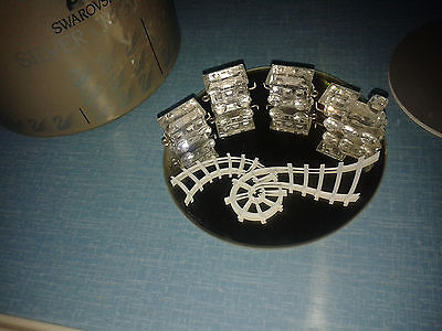 Swarovski Glass Miniature Train purchased in 1997 - boxed with certificate