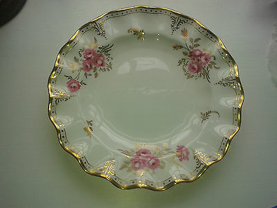 """Royal Crown Derby """"Royal Pinxton Roses"""" plate - purchased c1992 - good condition"""