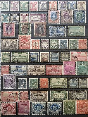 Pakistan 1947 To 2012 Complete Collection Used Excellent Condition!