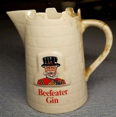Vintage Beefeater Gin Ceramic Decanter