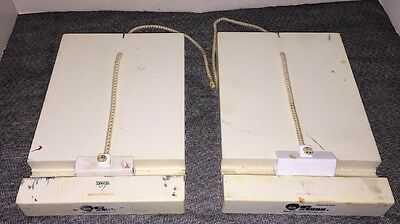2- Bob Ross #10 TRAVEL EASELS Expandable Made by Weber