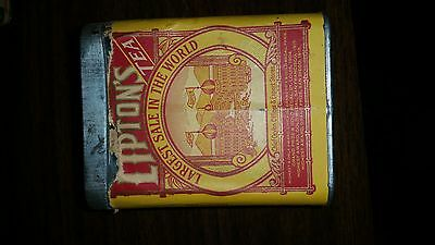 LIPTON Tea Planter Ceylon Tin with lid original