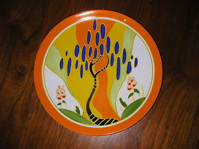 Clarice Cliff  Plate Ltd Edition By Wedgwood In Mint Condition