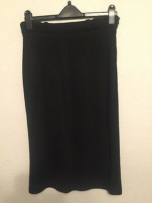 Excellent Condition, Ladies Dino Valiano Calf Length Knit Skirt In A 38, 10-12