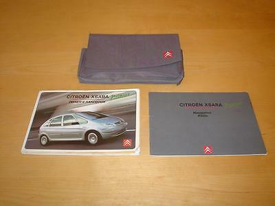 CITROEN XSARA PICASSO Mk2 MkII HDI DESIRE EXCLUSIVE Owners Handbook Manual Book