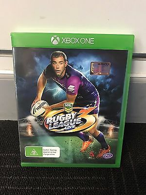 XBOX ONE GAME - Rugby League Live 3