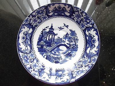 BLUE WHITE SAUCER ALTON WARE british
