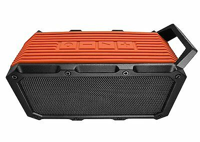 Divoom Voombox On Go Portable Wireless Rugged stereo Speaker - Orange