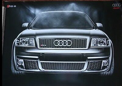 Genuine Audi RS6 Official Poster C5 4.2turbo V8