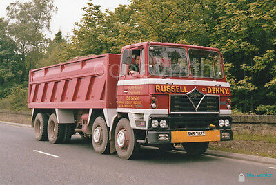 Truck Photo - RUSSELL OF DENNY FODEN 8W RIGID TIPPER (SMS 762T)