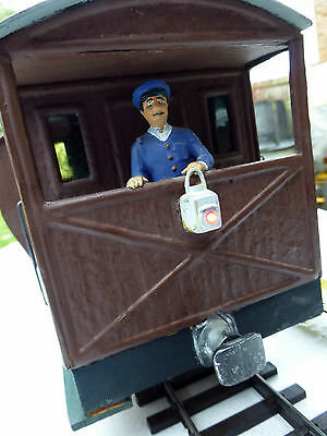 G scale Scratch/kit built Brake Van with guard and working rear lamp
