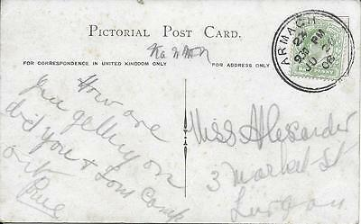 Armagh Double Ring Postmark 1908