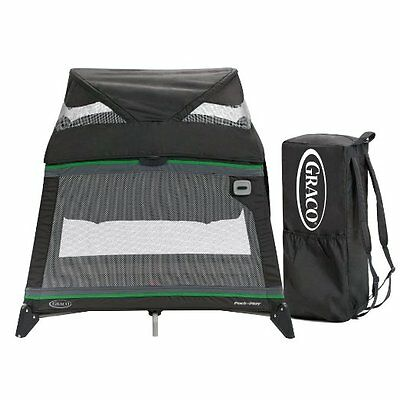 Graco Pack n Play Compact Playard Jetsetter GREAT For Travel! Sunshine