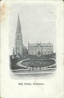 Cookstown Holy Trinity Church early undivided postcard posted 1904
