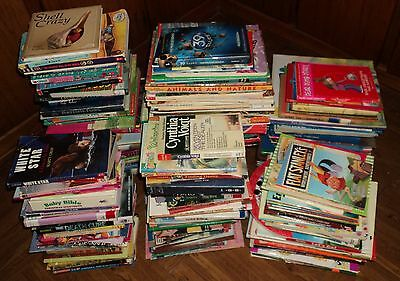 """CHILDRENS """"CHAPTER"""" BOOKS & MORE COLLECTION - Lot of 50 - Hours of Reading!!"""