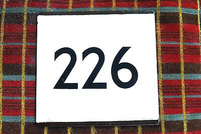 LONDON TRANSPORT BUS STOP E-PLATE for Route 226 (Golders Green & Cricklewood)