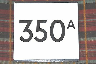 London Transport Country Area Bus Stop E-Plate : Route 350A.