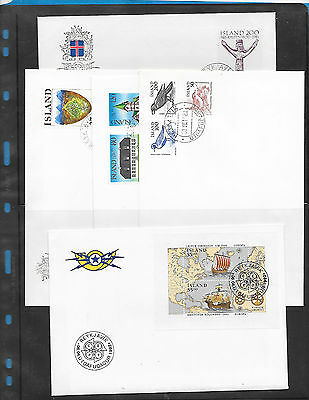 Iceland  5  FDC   Lot  23
