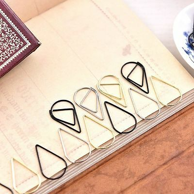 Clips Memo Bookmark Paperclip Bookmarks Metal Bookmarks Bookmark Bookends