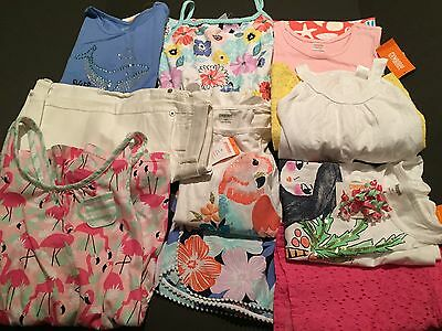NWT GYMBOREE 11 Pc. Mixed Lot 7 Outfits Sets Dresses Fruit Punch Sz. 10 RV $300