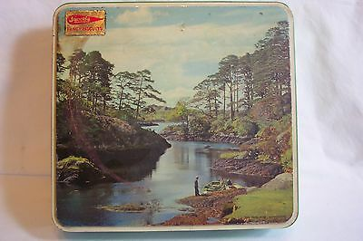Jacobs IRELAND FANCY BISCUITS THE BLUE POOL GLENGARRIFF PICTURE BOAT LAKE