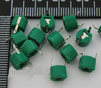 10PCS 30pf Variable Ceramic 6MM TRIMMER CAPACITOR 30 PF REAR RC