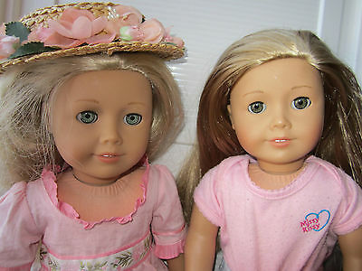 lot of two american girl dolls