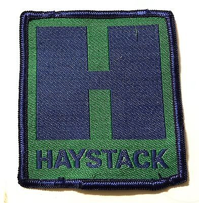 HAYSTACK Lost Area 1960s-2005 NOS Skiing Ski Patch VERMONT VT Resort UNUSED!