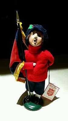 Byers Choice Salvation Army Caroler Boy With Flag