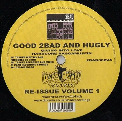 """12"""" Uk**good 2Bad And Hugly - Re-Issue Volume 1***23305"""