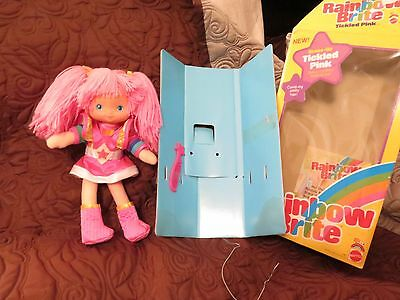 Vintage Mattel Hallmark Rainbow Brite Tickled Pink With Box